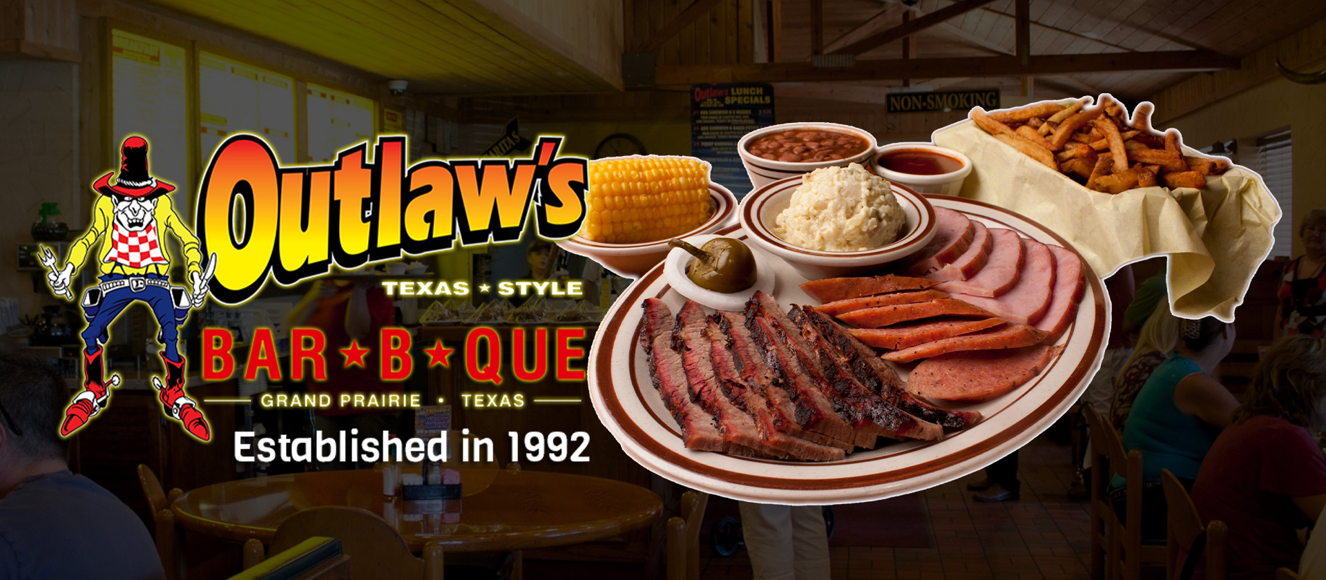 Outlaw's Barbeque - Texas Style BBQ