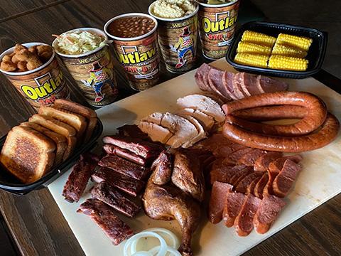 BBQ Menu Grand Prairie